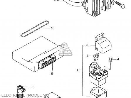 Suzuki GSXR750 1996 (T) (E02 E04 E18 E22 E24 E25 E34 E39