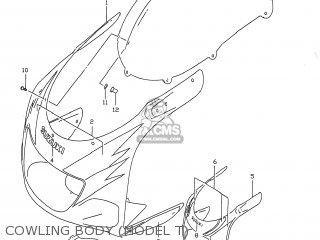 Suzuki Gsxr750 1996 (t) Usa (e03) parts list partsmanual