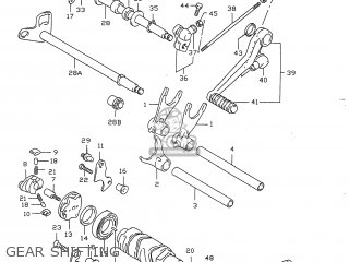 Suzuki Gsxr750 1996 (t) Usa (e03) parts list partsmanual