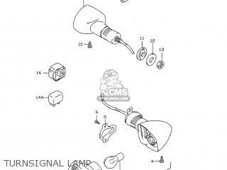 Suzuki GSXR750 1997 (V) USA (E03) parts lists and schematics