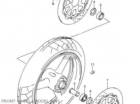 Suzuki Gsxr750 1998 (w) (e02 E04 E18 E22 E24 E25 E34 E39