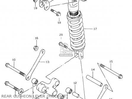 Suzuki GSXR750 1999 (X) parts lists and schematics