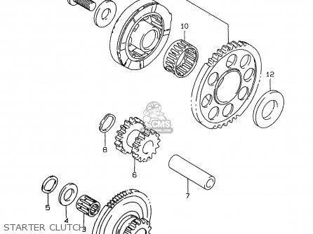 Suzuki GSXR750 1999 (X) parts lists and schematics