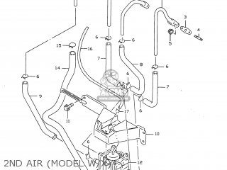 Suzuki GSXR750 1999 (X) USA (E03) parts lists and schematics