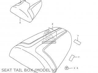 Suzuki GSXR750 1999 (X) USA (E03) parts lists and schematics