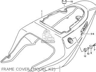 Suzuki GSXR750 2000 (Y) USA (E03) parts lists and schematics