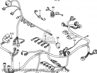 Suzuki Gsxr750 2003 (k3) Usa (e03) parts list partsmanual