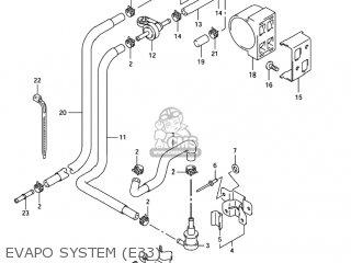 Suzuki GSXR750 2004 (K4) USA (E03) parts lists and schematics
