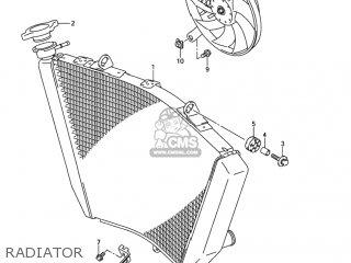 Suzuki Gsxr750 2004 (k4) Usa (e03) parts list partsmanual