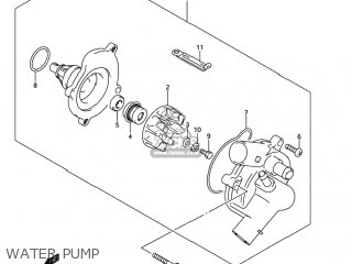 Suzuki Gsxr750 2004 (k4) Usa (e03) parts list partsmanual