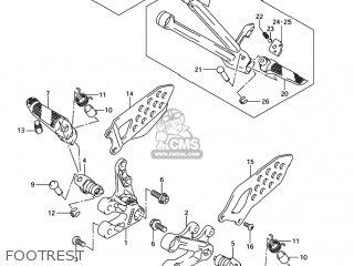 Suzuki GSXR750 2005 (K5) USA (E03) parts lists and schematics