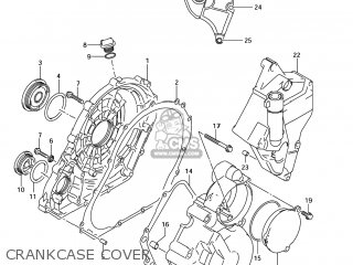 Suzuki Gsxr750 2006 (k6) Usa (e03) parts list partsmanual