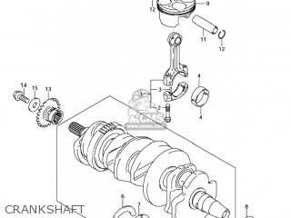 Suzuki GSXR750 2006 (K6) USA (E03) parts lists and schematics