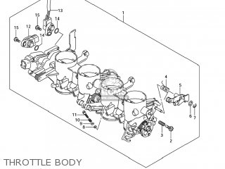 Suzuki GSXR750 2006 (K6) USA (E03) parts lists and schematics