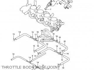 Suzuki GSXR750 2007 (K7) USA (E03) parts lists and schematics