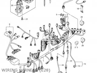Suzuki GSXR750 2011 (L1) USA (E03) parts lists and schematics