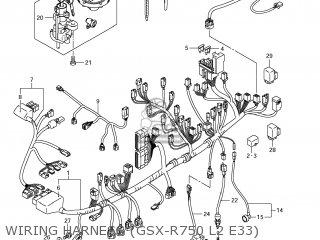 Suzuki GSXR750 2012 (L2) USA (E03) parts lists and schematics