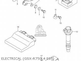 Suzuki Gsxr750 2014 (l4) Usa (e03) parts list partsmanual