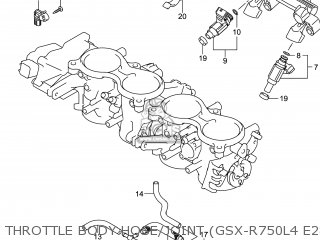 Suzuki Gsxr750 2014 (l4) Usa (e03) parts list partsmanual