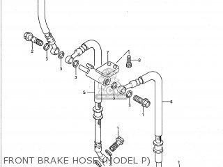 Suzuki GSXR750W 1993 (P) USA (E03) parts lists and schematics