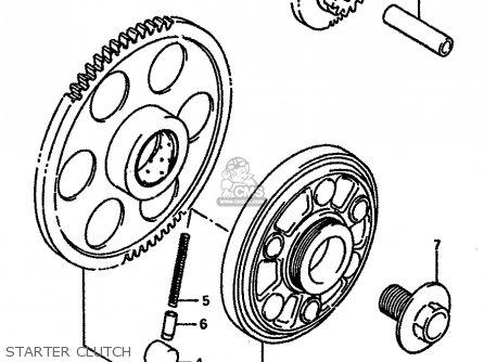 Suzuki GSXR750X 1986 (G) (E01 E02 E04 15 16 17 18 21 22 24