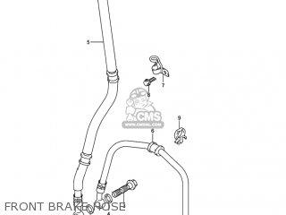 Suzuki GSXR750X 2004 (K4) USA (E03) parts lists and schematics