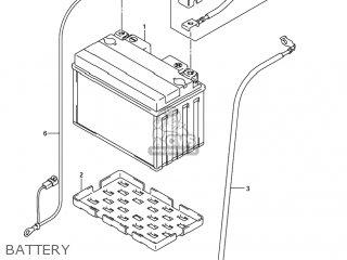 Suzuki GSXR750X 2005 (K5) USA (E03) parts lists and schematics