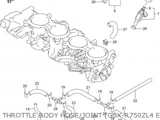 Suzuki GSXR750Z 2014 (L4) USA (E03) parts lists and schematics