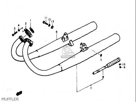 1973 Suzuki Tc125 Wiring Diagram 1973 Suzuki GT750 Wiring