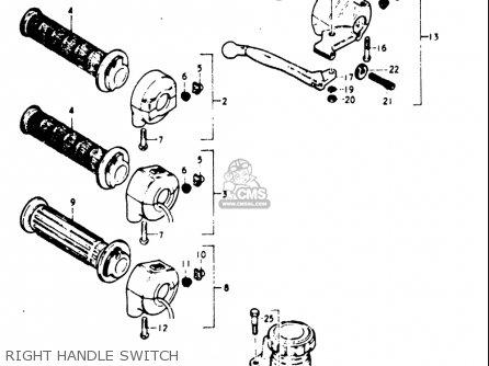 Suzuki Gt185k Gt185l Gt185m Gt185a Gt185b 1973-1977 Usa