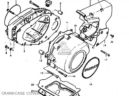Suzuki GT200 1979 (N) GENERAL EXPORT (E01) parts lists and