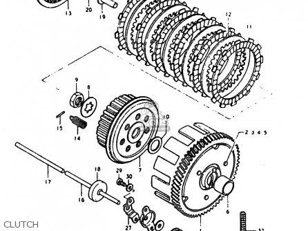 Suzuki GT200E 1979 (N) GENERAL EXPORT (E01) parts lists