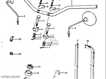 Suzuki GT250 1973 1974 1975 1976 1977 (K) (L) (M) (A) (B