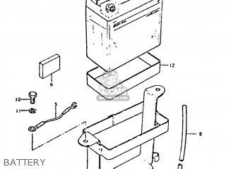Suzuki Gt250 1979 (n) parts list partsmanual partsfiche