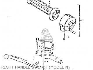Suzuki Gt250e 1979 (n) (e01 E02 E04 E16 E17 E18 E21 E22