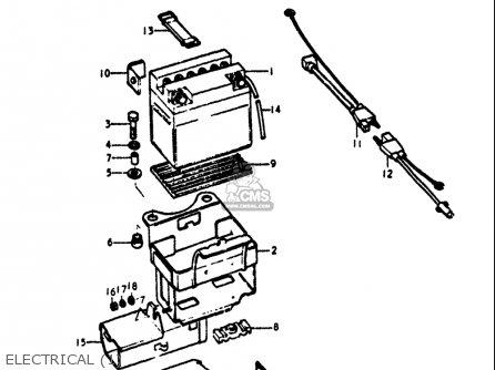 Suzuki Gt380 1973-1977 (usa) parts list partsmanual partsfiche