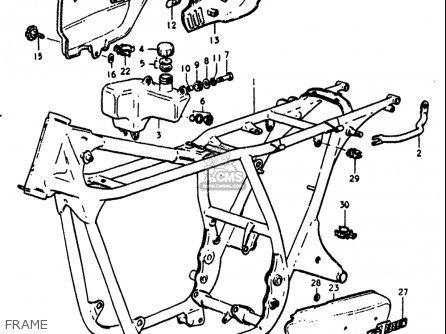 Suzuki Gt380k Gt380l Gt380m Gt380a Gt380b 1973-1977 Usa