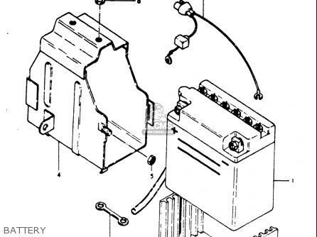 Suzuki Gt500 1976-1977 (usa) parts list partsmanual partsfiche
