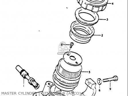 Suzuki GT550 1973 1974 1975 1976 1977 (K) (L) (M) (A) (B