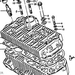 Combination Switch Wiring Diagram Semi Truck Trailer Plug Suzuki Gt750 1972 (j) Usa (e03) Parts Lists And Schematics