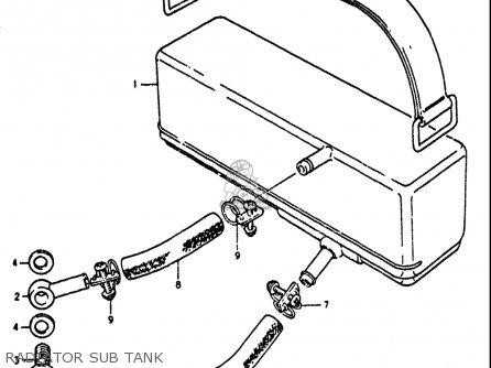 Suzuki Gt750 1972 (j) Usa parts list partsmanual partsfiche