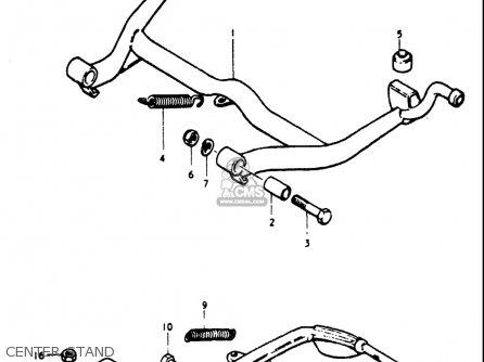 Suzuki Gt750 1973 1974 1975 1976 1977 (k) (l) (m) (a) (b