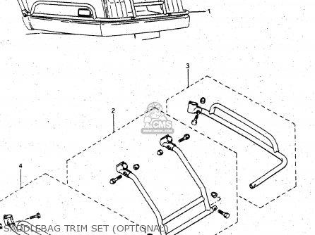 Suzuki Gv1400 1986 (gdg) parts list partsmanual partsfiche