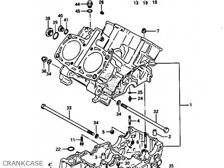 Suzuki Gv1400 1986 (gtg) parts list partsmanual partsfiche
