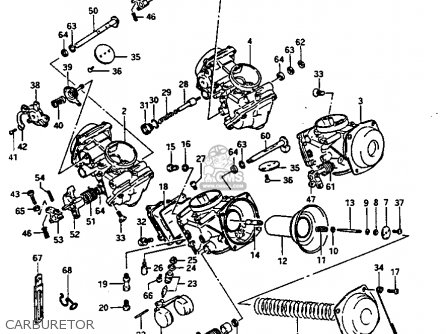 Suzuki Gv1400gt 1986 (g) (e01) parts list partsmanual