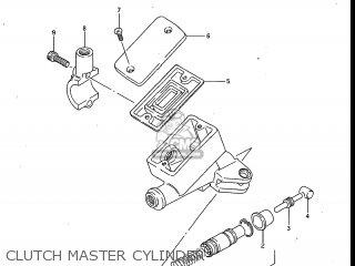 Suzuki Gv700glf Madura 1985 (f) Usa (e03) parts list