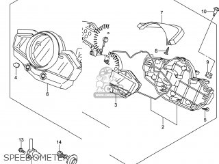 Suzuki Gw250 Inazuma 2014 (l4) Usa (e03) parts list