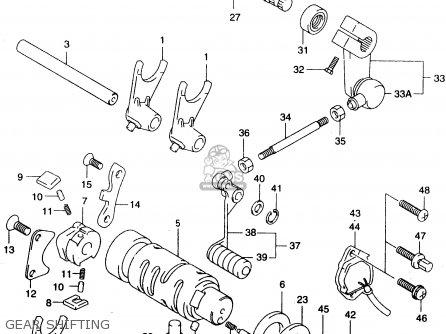 Suzuki GZ125 1998 (W) (E01 E02 E04 E17 E22 E25 E34) parts