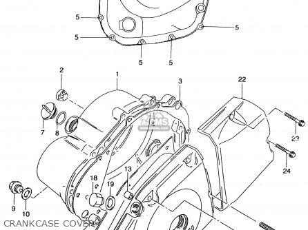 Suzuki Gz125 1999 (x) parts list partsmanual partsfiche