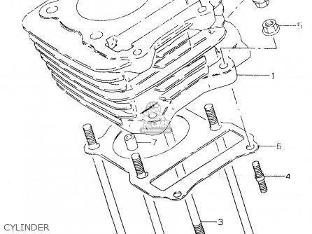 Suzuki Gz125 1999 (x) (e01) parts list partsmanual partsfiche